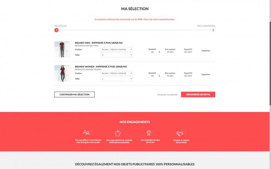 DeoTextil e-commerce