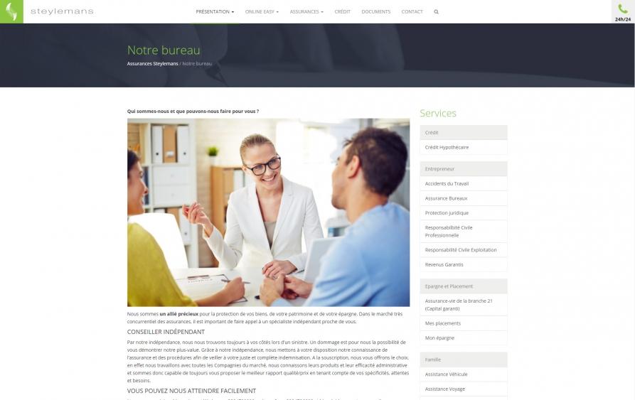 Steylemans site internet